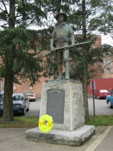 Spanish-American war memorial, Cohoes, NY