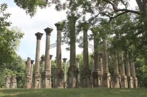 Ruins of Windsor mansion