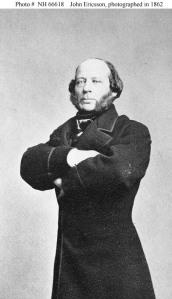John Ericsson, 1862.