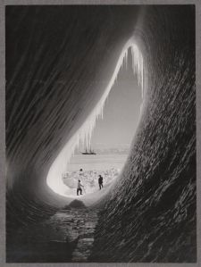 Iceberg grotto picture, January 5, 1911.