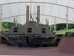 "The ""USS Cairo,"" restored and on display in Vicksburg, MS, 2006."