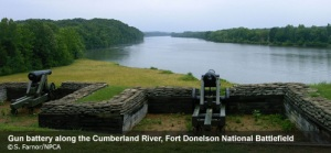 Fort Donelson battery.