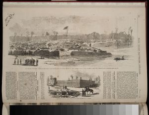 Fort Henry after its capture.