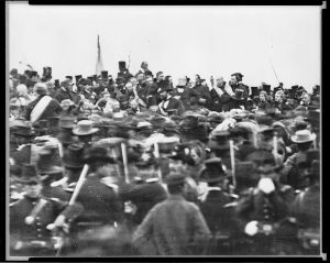 Lincoln at Gettysburg, 1863