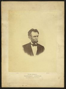 Lincoln in March 1865.