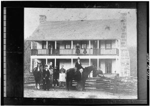The Elkhorn Tavern, unknown date/photographer.