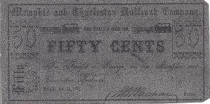 An 1862 MemphisCharleston Railroad Ticket