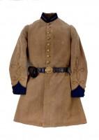 Confederate uniform coat