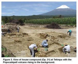 Excavating Tetimpa in the shadow of Popocatepetl