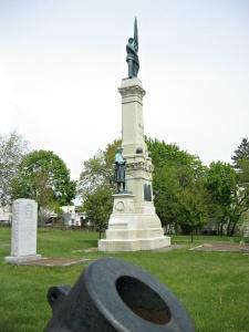 Cohoes Civil War memorial