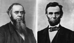 Edward Stanton and Abraham Lincoln