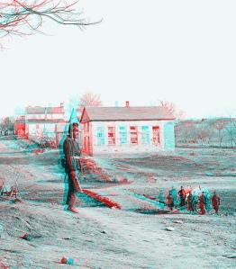3D Civil War image, Centreville, Virginia