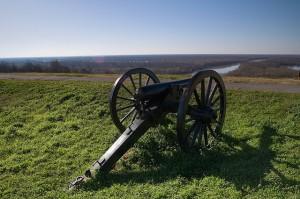 A Confederate position at Vicksburg