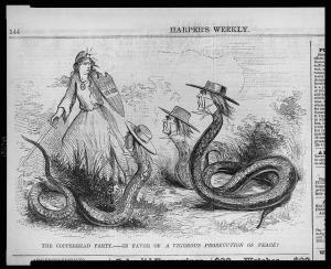 Harper's Weekly view of copperheads
