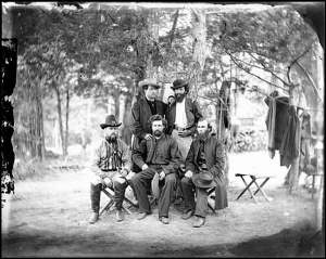 Some of the Irish Brigade at Harrison's Landing, July 1862