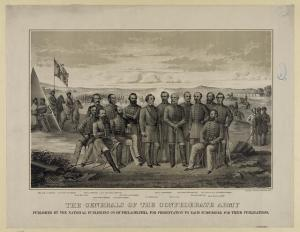 The Generals of the Confederate Army