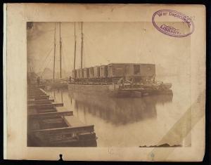 Transportation on the Potomac to supply McClellan at Aquia Creek