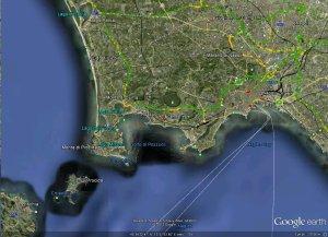 Campi Flegrei - Google Earth