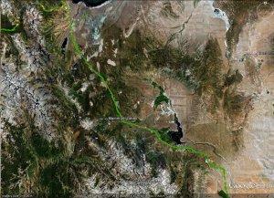 Long Valley Caldera - Google Earth