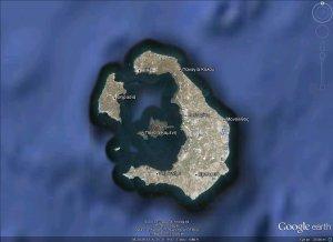 Santorini - Google Earth