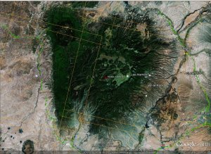 Valles Caldera - Google Earth