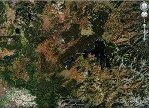 Yellowstone Caldera - Google Earth