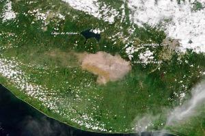Lake Atitlan and Fuego