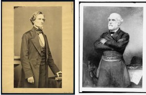 Jefferson Davis and General Lee