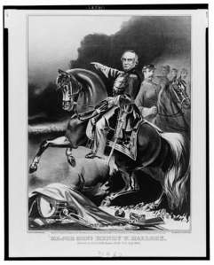 Generals Halleck and McClellan