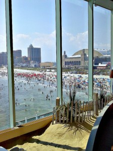 Atlantic City from Caesars