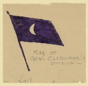 Cleburne's flag