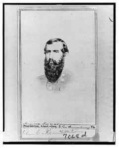 General John C. Pemberton, CSA.