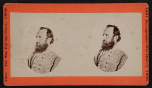 General Thomas Jackson (stereograph - Library of Congress)