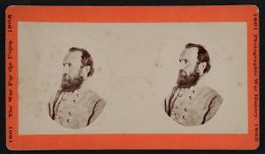 General Thomas Jackson (stereograph - Library of Congress)