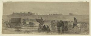 Retreat of Union army