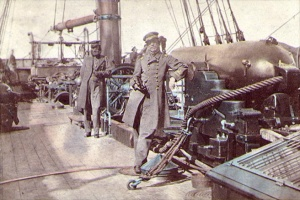 Semmes and Kell on the CSS Alabama