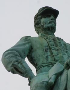 Statue of General McClellan