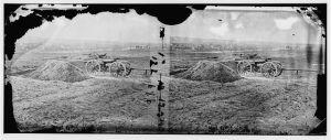 Fredericksburg from Tyler's battery