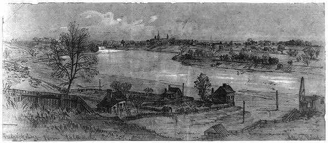 Fredericksburg from Falmouth, November-December, 1862