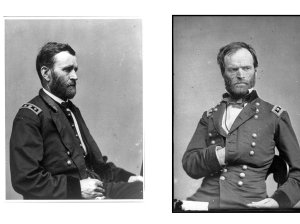 Generals Grant and Sherman
