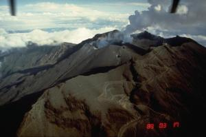 Galeras in 1989 (Norm Banks, United States Geological Survey)