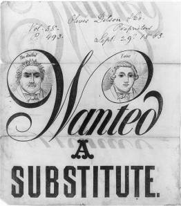 Protest music, 1863-style.  (Library of Congress)