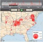 Source:  Washington Post interactive online map.