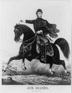 """General Joseph """"Fighting Joe"""" Hooker, thought a dictator could make things go better in America. (Library of Congress)"""