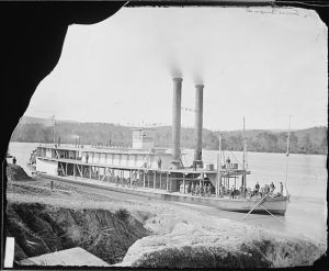 A transport Steamer on Tennessee River (Matthew Brady, undated, National Archives)