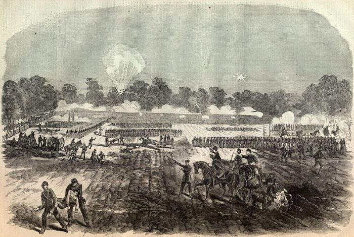 "The Battle of Irish Bend, ""Harper's Weekly"" via Son of the South."