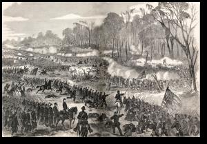 The Battle of Champion Hill/Baker Creek.  Source