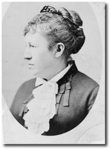 Julia Grant.  Library of Congress.