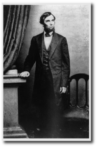 Lincoln on April 17, 1863 (Matthew Brady by way of source 19, below)