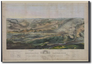 Gettysburg battlefield, Endicott & Co., circa 1863.  (Library of Congress - click to enlarge)